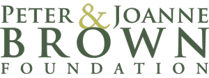 Peter & Joanne Brown Foundation Logo