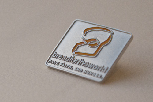 Bread for the World lapel pin