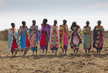 Kenyan Women. Photo by Keith Levit