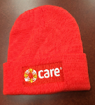 Click here for more information about CARE tuque (orange)