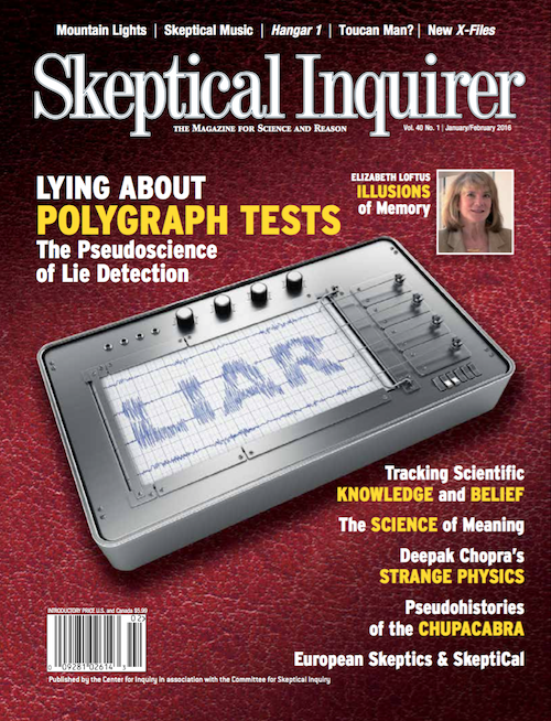 The Lie Detector's Ugly Truth: Skeptical Inquirer on Polygraph