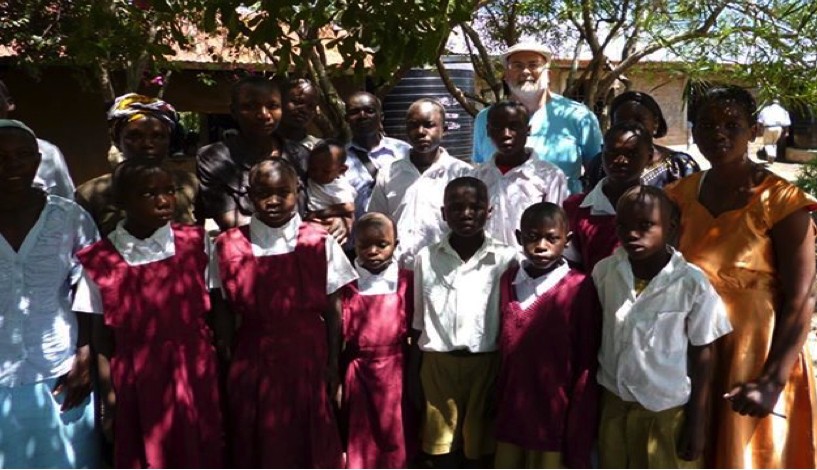 Bill Cooke, CFI International Director with the Humanist Orphans