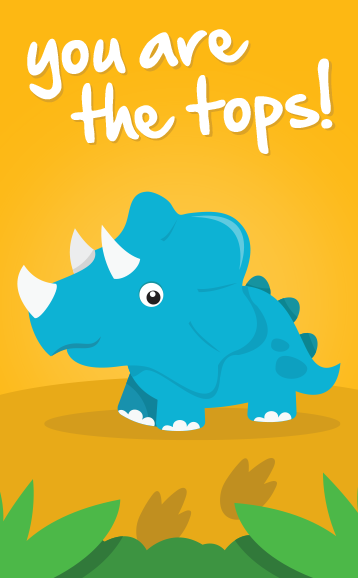 You are the tops!