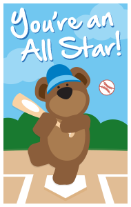 You're an All Star!