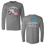 Click here for more information about BELLA+CANVAS Unisex Jersey Long Sleeve Tee with Lurie Brain Matters Imprint
