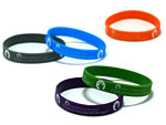 Click here for more information about Silicone Wristband with Lurie Ink Injected Imprint