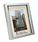 Click here for more information about Silver Shadowbox Frame with Lurie Imprint