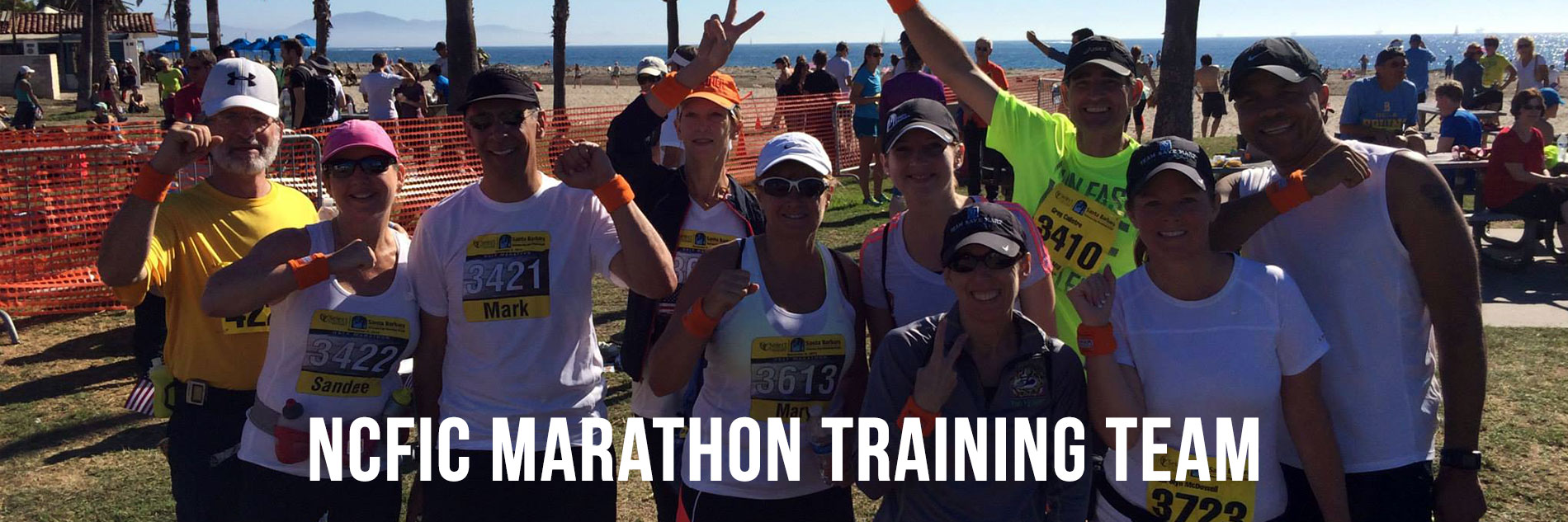 NCFIC Marathon Training Team