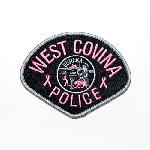 West Covina Police Department 2019 Pink Patch