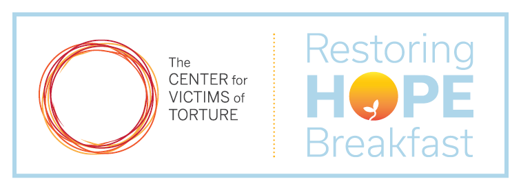 The Center for Victims of Torture 2017 Restoring Hope Breakfast