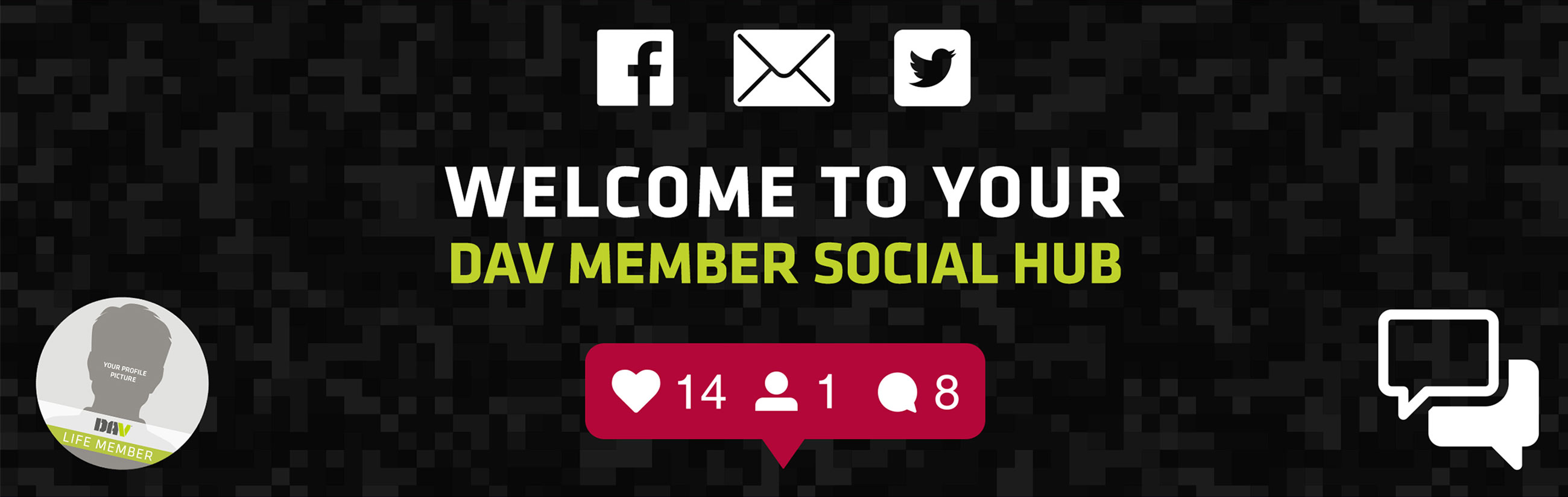 Welcome to your DAV Member Social Hub