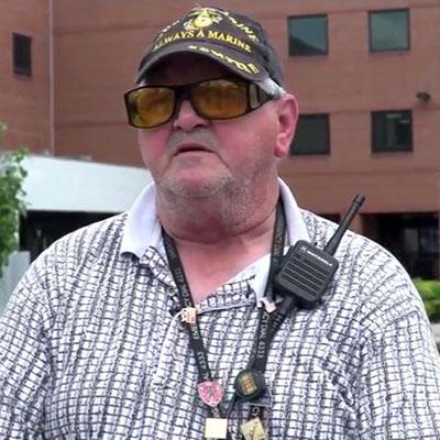 Veteran Gives Back by Volunteering