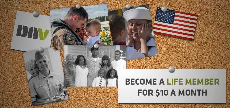 become a life member for as little as $10 a month