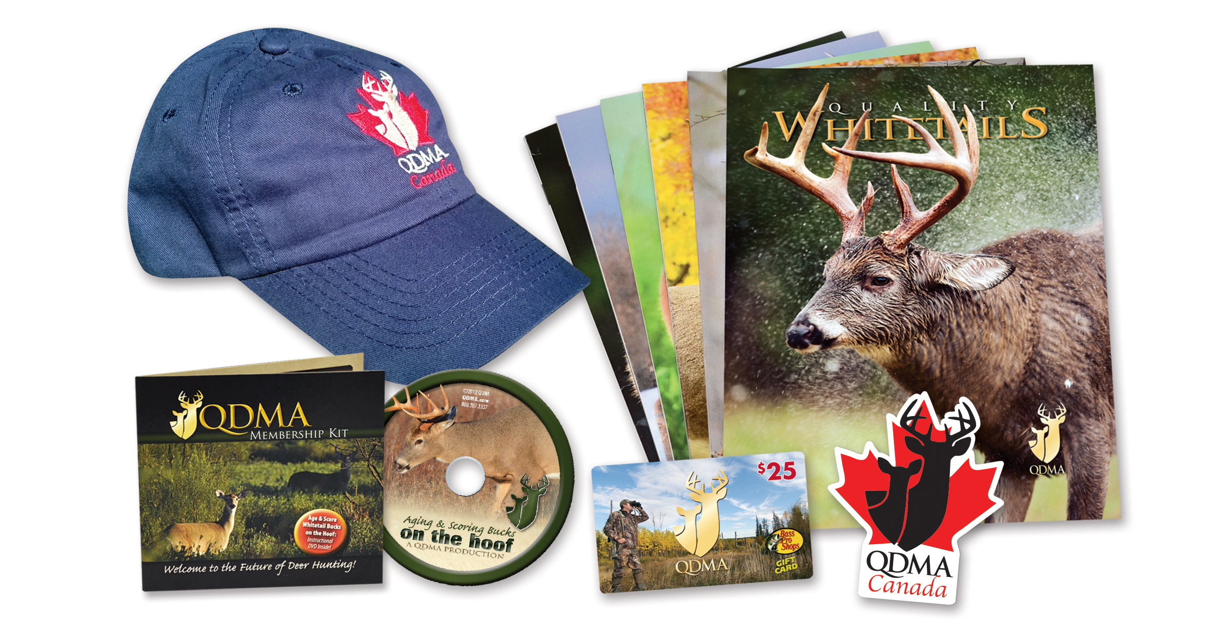 QDMA Canada 3 Year Membership Gifts