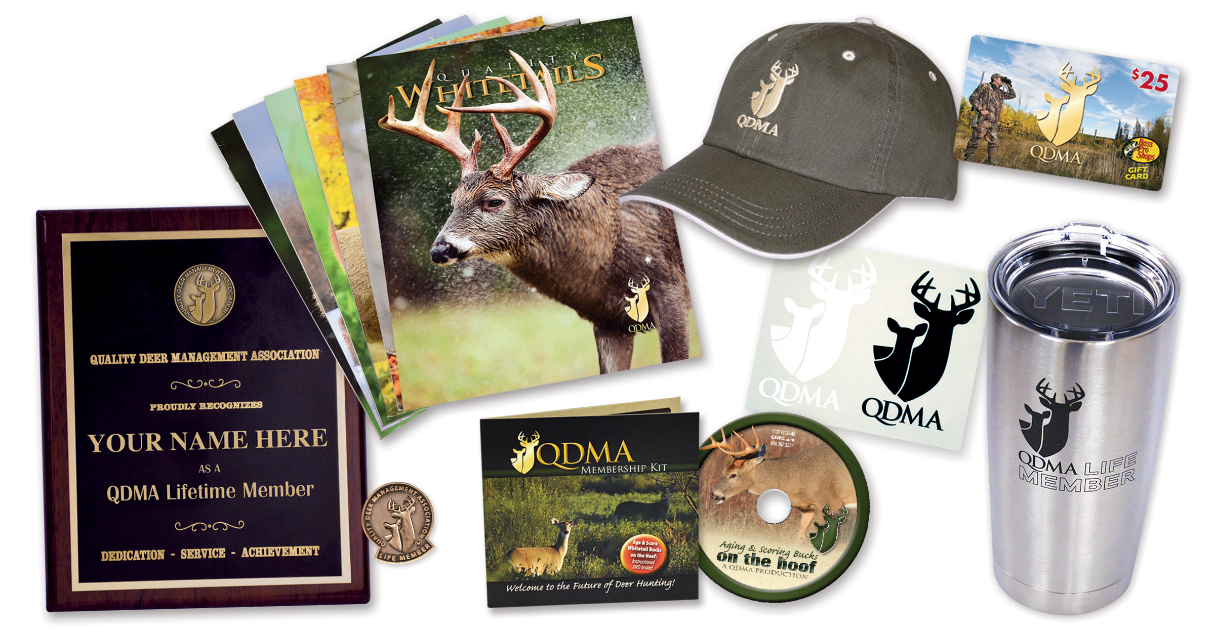 QDMA Lifetime Membership Gifts