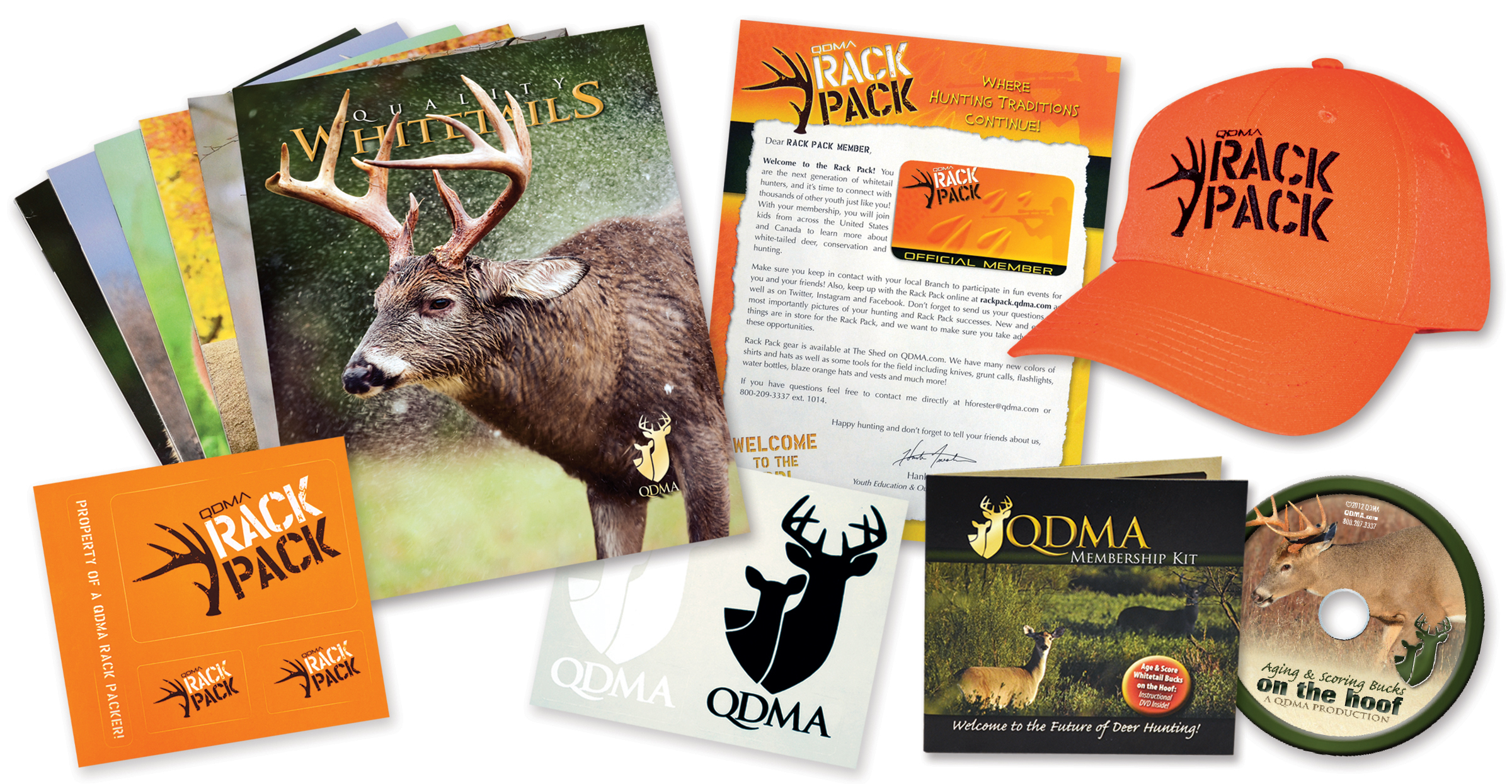 QDMA Canada Rack Pack Gifts