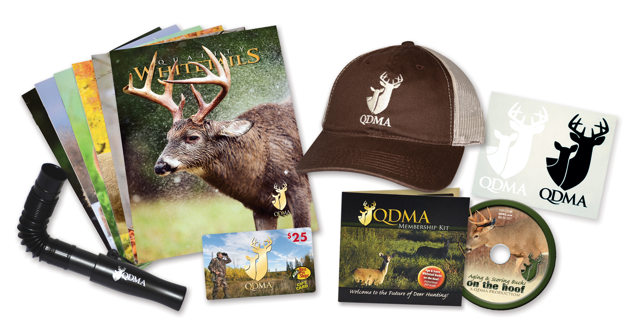 QDMA 3 Year Membership Gifts