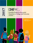 Click here for more information about Canadian Guide for Successful Transition to College and University, 2017 Edition