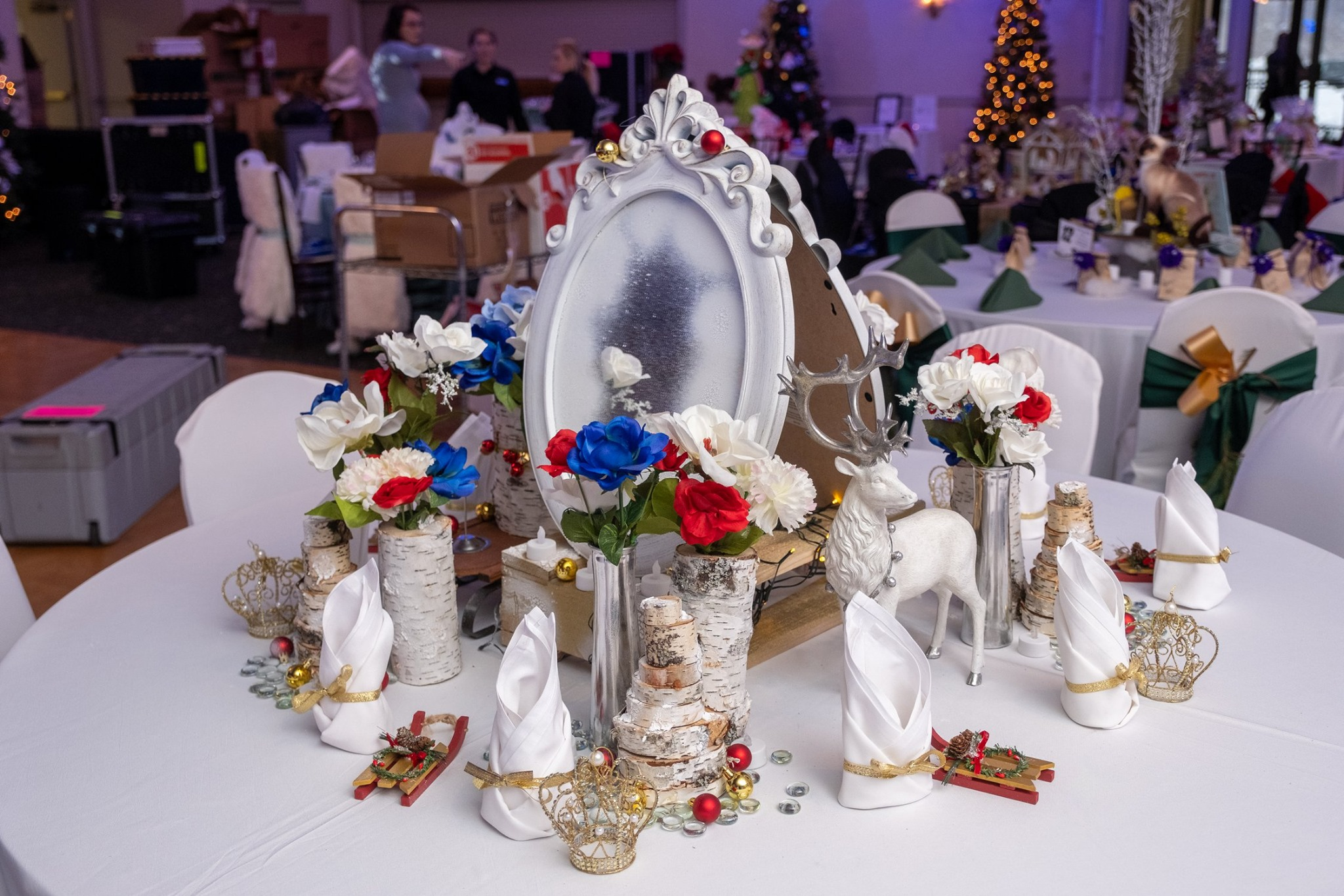 Storybook Snow Queen table