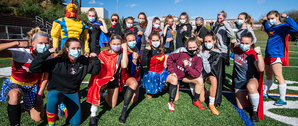 The HEROES of Hanover High Girls' Soccer Team