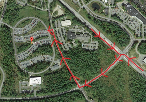 Dartmouth Hitch Hospital Map on