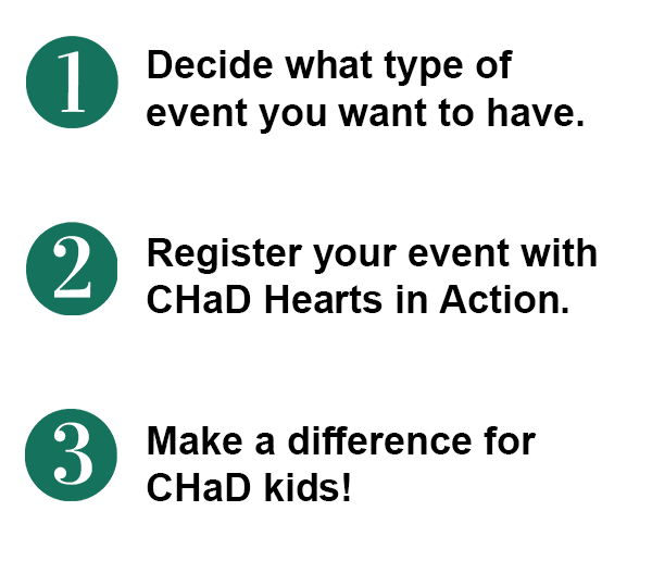 How to have a Hearts in Action event