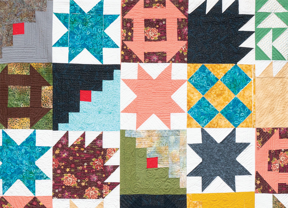 2018 Harlem Senior Center Quilt Holiday Card