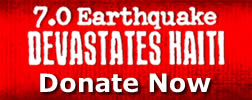 7.0 Earthquake Haiti Devestates Donate Now