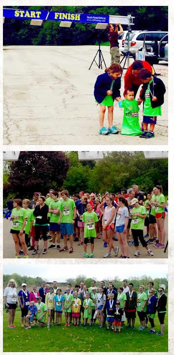 runners at the 5K Walk/Run Education