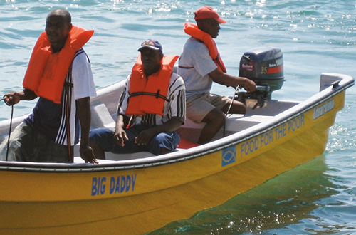 Provide an outboard motor