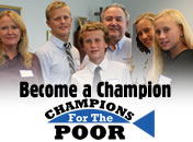 Become a Champion For The Poor