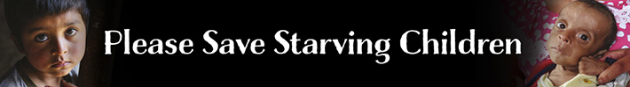 Please save starving children!