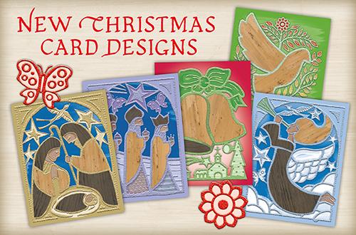 Set of 10 Banana Bark New Christmas Card Designs