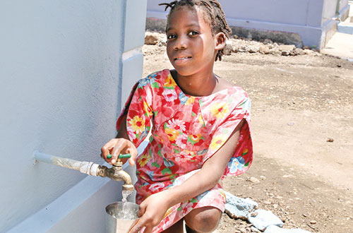 Contribution Toward A Community Well