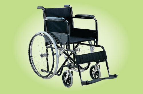 Wheelchair for a poor person