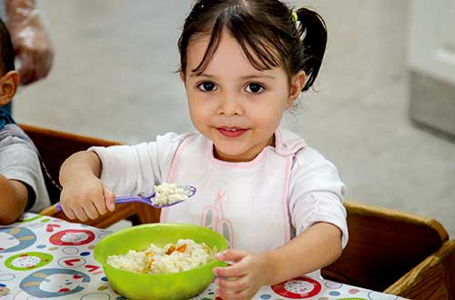 Feed a child for one year
