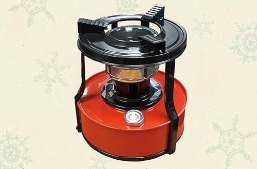 Kerosene stove for a poor family