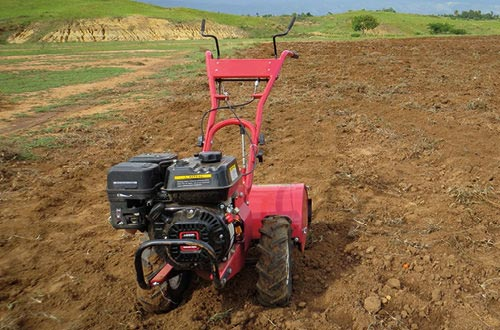 Provide a gas tiller for farming