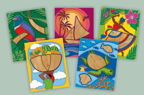 Banana Bark All-Occasion Cards
