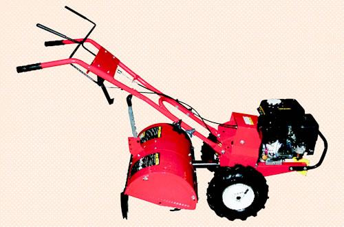 Provide a gas tiller for farming