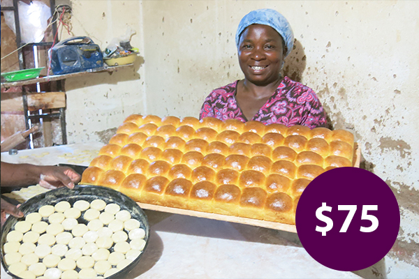 $75: Buy Machinery and Equipment to Build a Bakery