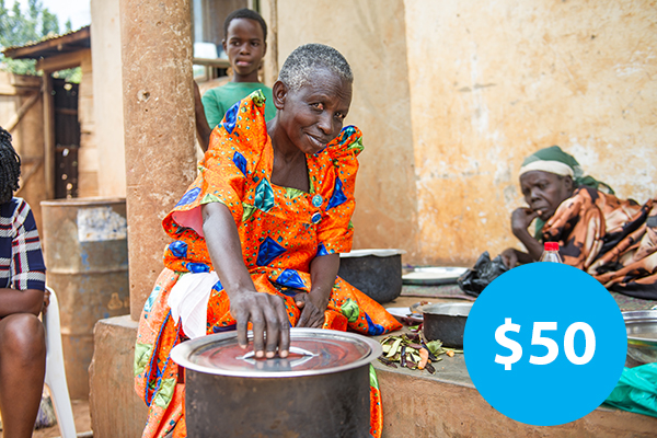 $50: Buy an Efficient Cookstove