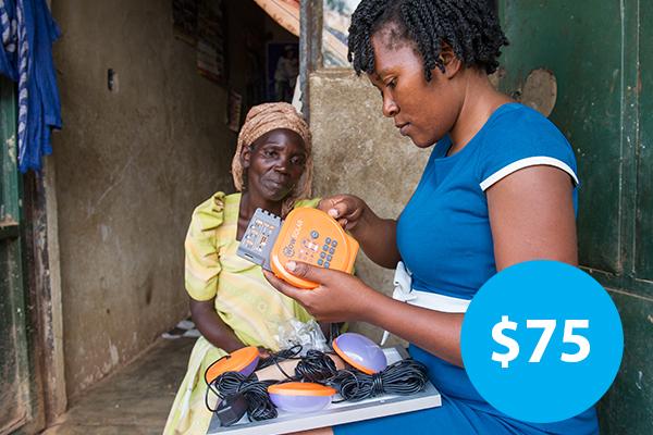 $75: Buy a Solar Lantern