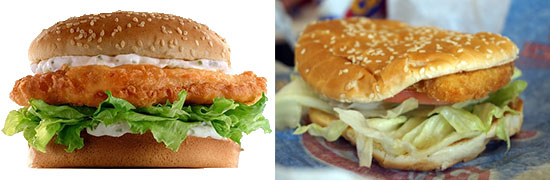 Which fast food fish sandwiches are worth eating focus Hardee s fish sandwich