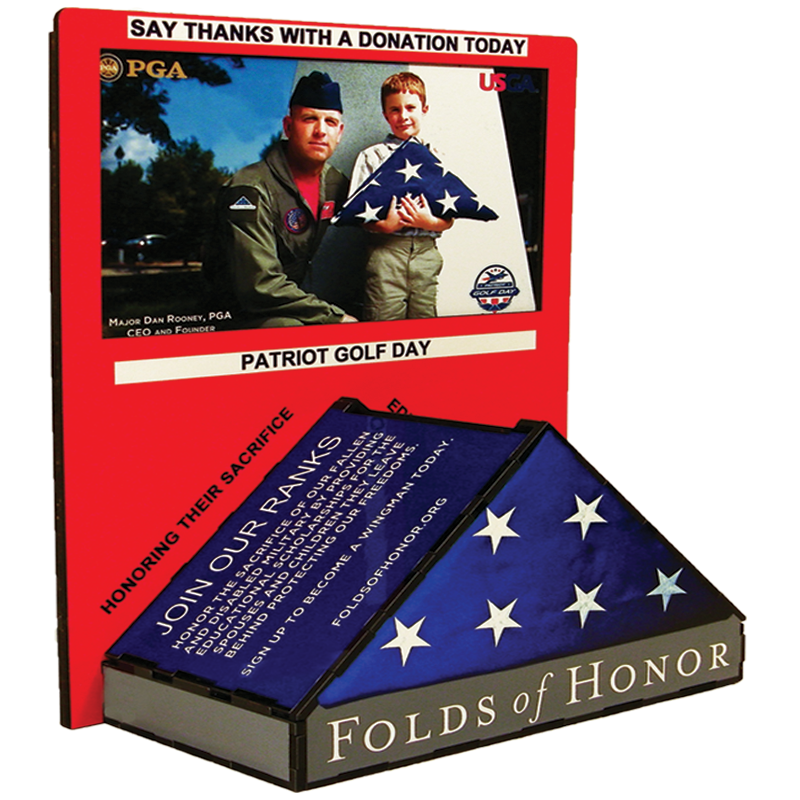 Patriot Golf Day Donation Box