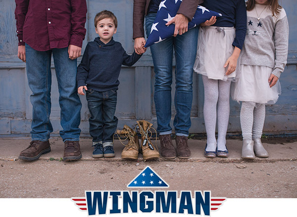 Instead of a one-time gift, make it monthly: A Folds of Honor Wingman dutifully supports the pursuit of education for our military families affected by war.