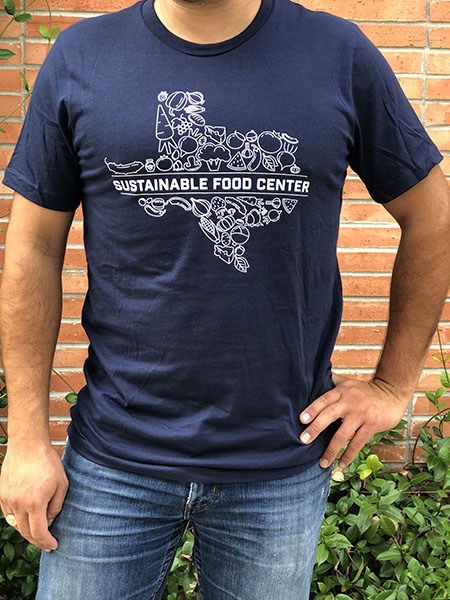 Blue SFC Texas Shirt Front