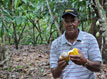 Andres Rivera, a cacao producer.