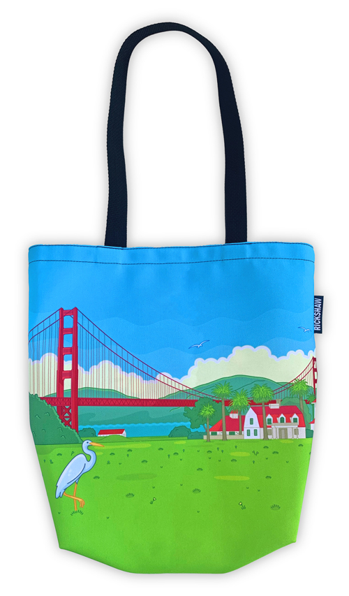 Crissy Field 20th Anniversary Mini Tote