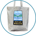 Ocean Beach Tote Bag